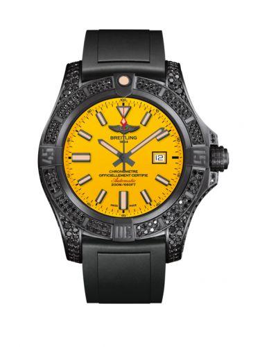 Avenger Blackbird 44 Black Titanium / Diamondworks / Cobra Yellow / Rubber