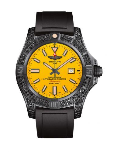 Avenger Blackbird 48 Black Titanium / Diamondworks / Cobra Yellow / Rubber
