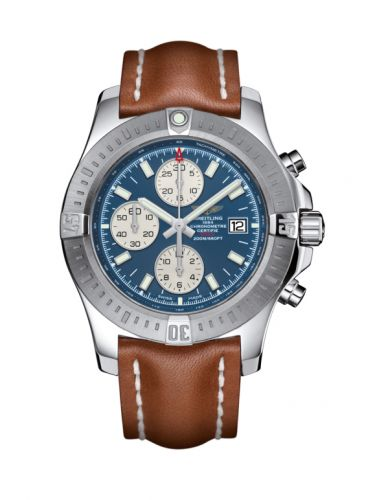 Colt Chronograph Automatic Stainless Steel / Mariner Blue / Calf