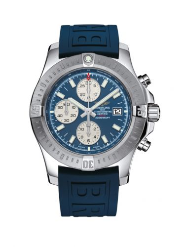 Colt Chronograph Automatic Stainless Steel / Mariner Blue / Rubber