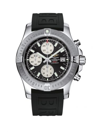 Colt Chronograph Automatic Stainless Steel / Volcano Black / Rubber