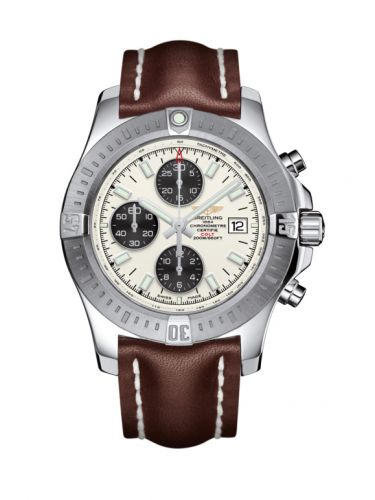 Colt Chronograph Automatic Stainless Steel / Stratus Silver / Calf