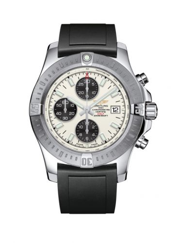 Colt Chronograph Automatic Stainless Steel / Stratus Silver / Rubber