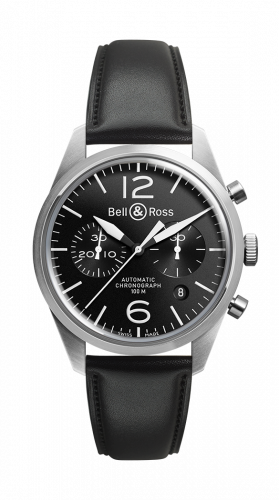BR 126 Original Black Chronograph