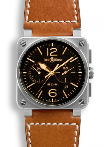 BR 03 94 Golden Heritage Chronograph