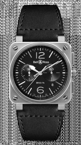 BR 03 94 Steel Chronograph