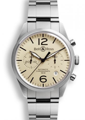 BR 126 Original Beige Chronograph