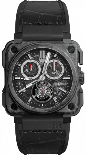 BR-X1 Tourbillon Chronograph Carbone Forgé
