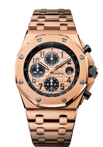 Royal Oak Offshore 26470 Pink Gold / Pink Gold / Bracelet