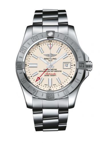 Avenger II GMT Stainless Steel / Stratus Silver / Bracelet