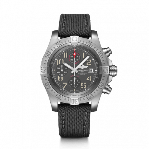 Avenger Bandit Titanium / Titanium Gray / Silver Hands / Military / Pin