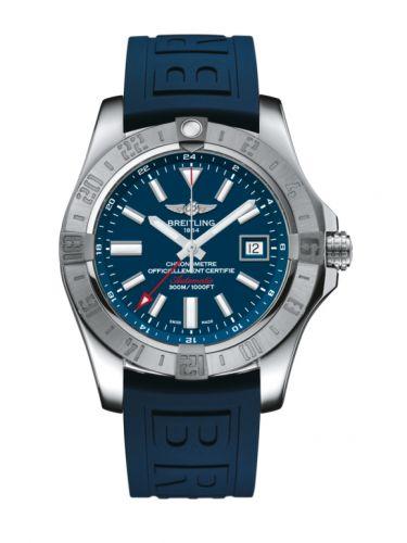 Avenger II GMT Stainless Steel / Mariner Blue / Rubber / Pin