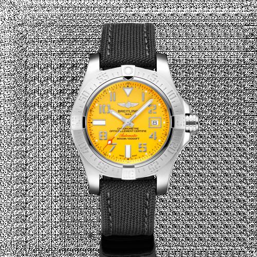 Avenger II Seawolf Stainless Steel / Cobra Yellow / Military / Pin