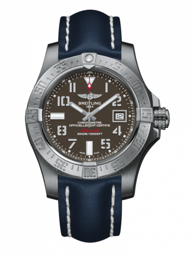 Avenger II Seawolf Stainless Steel / Tungsten Gray / Calf / Pin
