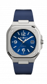 BR 05 Stainless Steel / Blue / Rubber