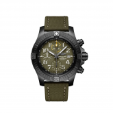 Avenger Chronograph 45 Night Mission / Green / Military / Pin