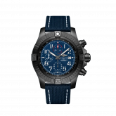 Avenger Chronograph 48 Night Mission / Blue / Military / Pin