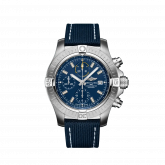 Avenger Chronograph 45 Stainless Steel / Blue / Military / Pin