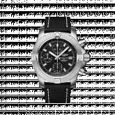 Avenger Chronograph 43 Stainless Steel / Black / Military / Folding