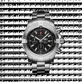 Avenger Chronograph 48 Stainless Steel / Black / Bracelet