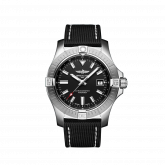 Avenger Automatic 43 Stainless Steel / Black / Military / Pin