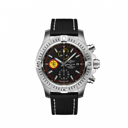 Avenger Chronograph 45 Stainless Steel / Black / Military / Pin / Swiss Air Force Limited Edition
