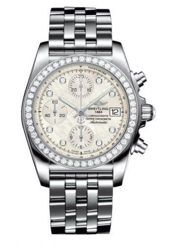Chronomat 38 SleekT Stainless Steel / Diamond / MOP / Bracelet