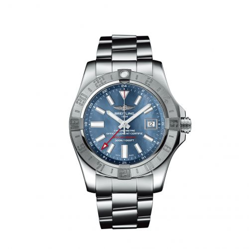 Avenger II GMT Stainless Steel / Blue MOP / Japan Special Edition