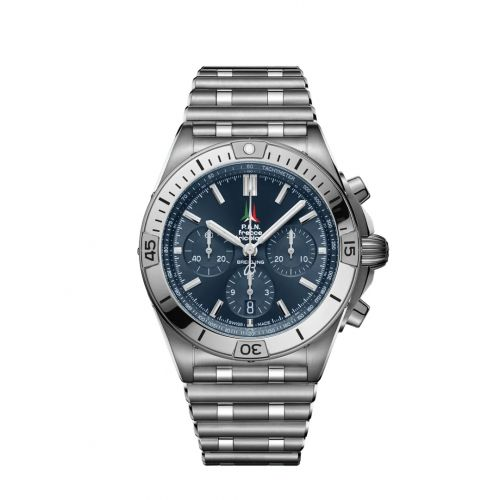 Chronomat B01 42 Stainless Steel / Frecce Tricolori / Rouleaux