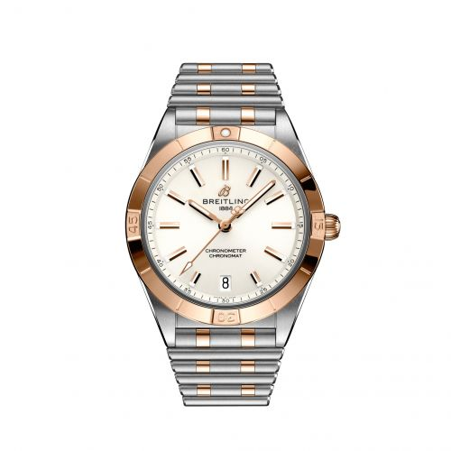 Chronomat Automatic 36 Stainless Steel / Red Gold / White / Rouleaux