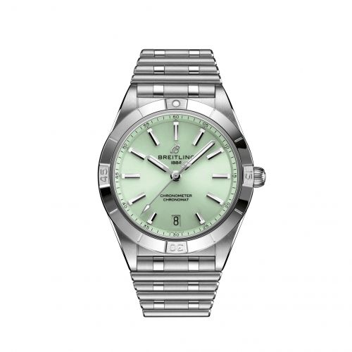 Chronomat Automatic 36 Stainless Steel / Green / Rouleaux