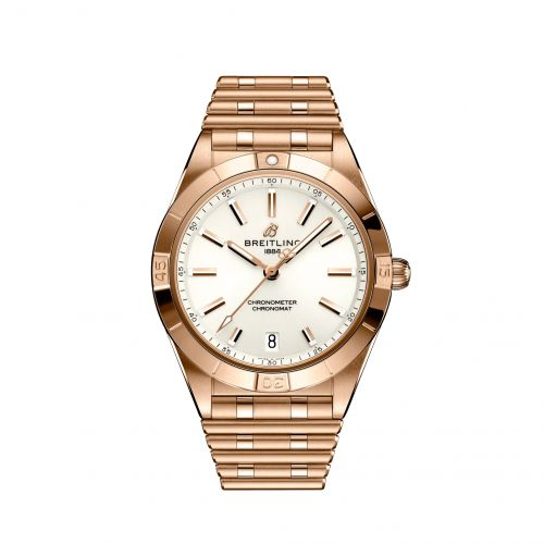 Chronomat Automatic 36 Red Gold / White / Rouleaux