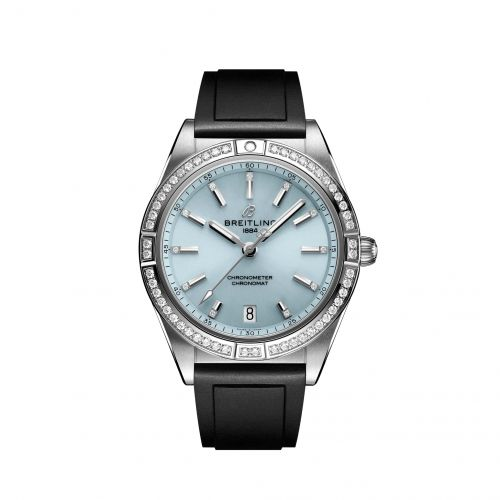 Chronomat Automatic 36 South Sea Stainless Steel / White Gold / Diamond / Ice Blue