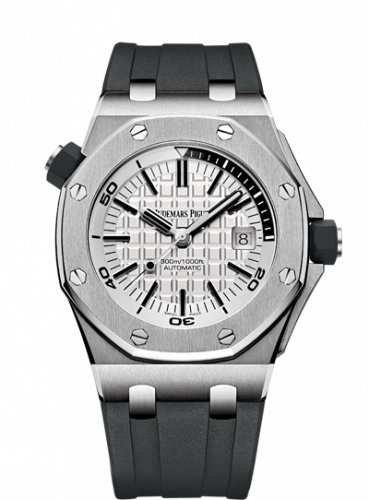 Royal Oak Offshore Diver Stainless Steel / Silver