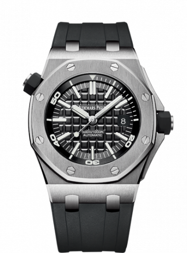 Royal Oak Offshore Diver Stainless Steel / Black