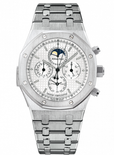Royal Oak Grande Complication White Gold / Silver