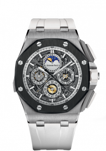 Royal Oak Offshore 26571 Grande Complication Titanium / Ceramic / White