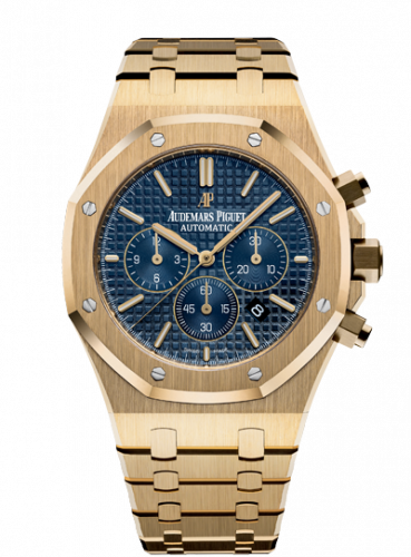 Royal Oak Chronograph 41 Yellow Gold / Blue