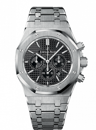Royal Oak Chronograph 41 Stainless Steel / Black