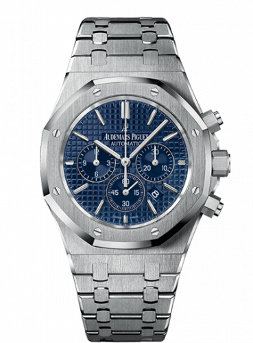 Royal Oak Chronograph 41 Stainless Steel / Blue