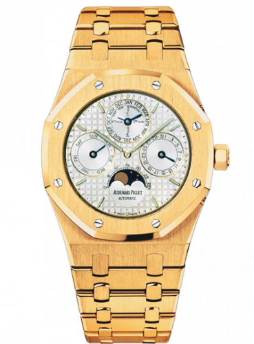 Royal Oak Perpetual Calendar Yellow Gold / Silver