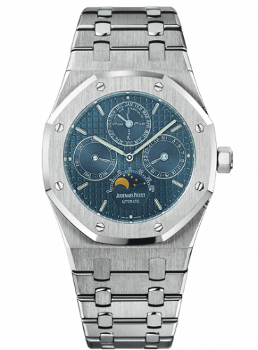 Royal Oak Perpetual Calendar Stainless Steel / Dark Blue