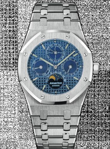 Royal Oak Perpetual Calendar Stainless Steel / Blue