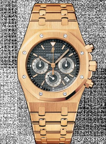 Royal Oak 25960 Chronograph Pink Gold / Brown