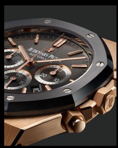 Royal Oak Chronograph 41 Leo Messi Pink Gold