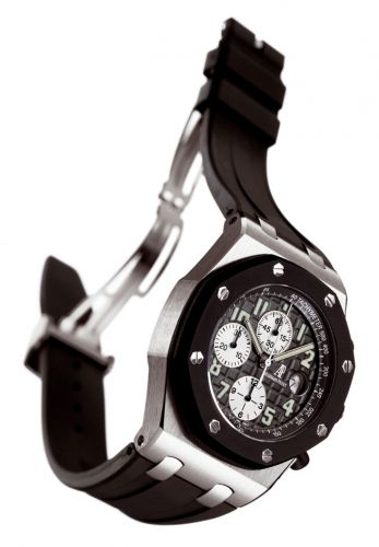 Royal Oak Offshore 25940 Chronograph Rubberclad Stainless Steel / Black