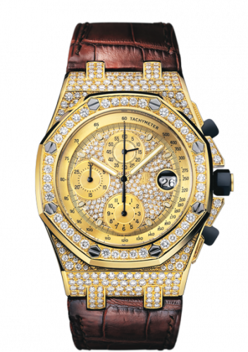 Royal Oak Offshore Yellow Gold / Diamonds
