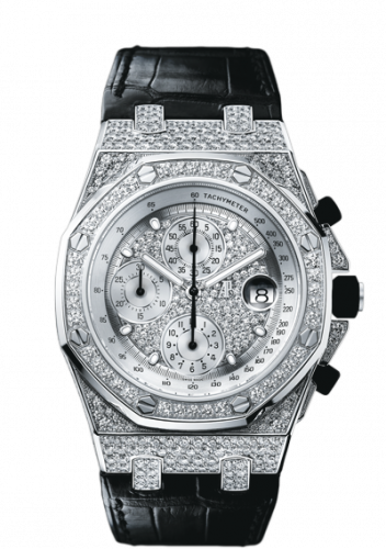 Royal Oak Offshore White Gold / Diamonds