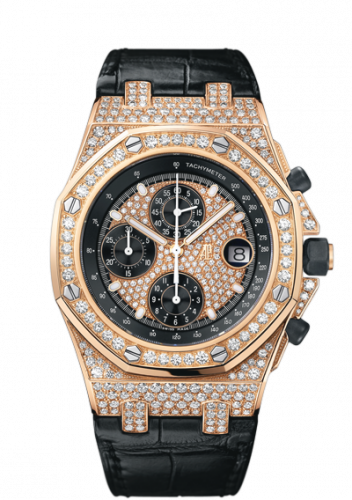 Royal Oak Offshore Pink Gold / Diamonds