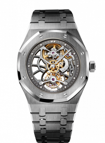 Royal Oak Ultra Thin Tourbillon Openworked Platinum